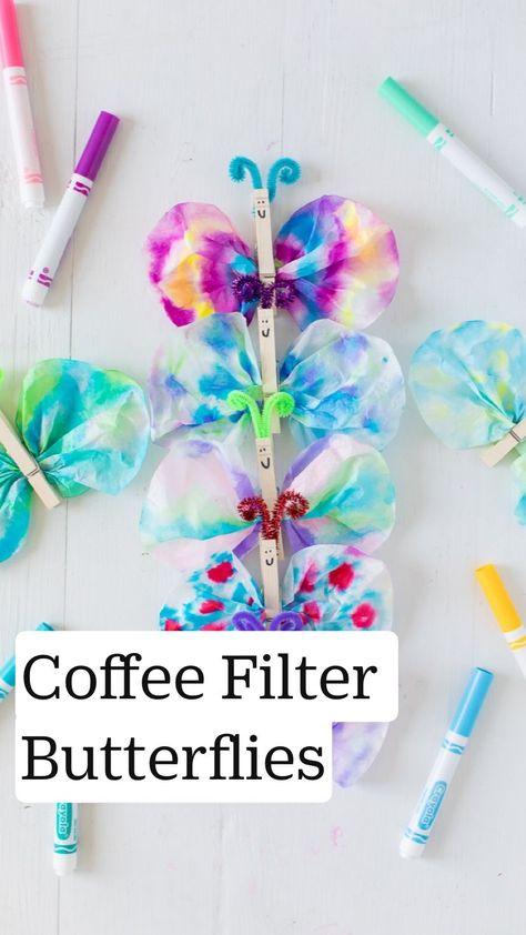 Best Coffee Filter Butterflies