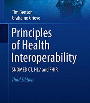 Principles Of Health Interoperability Pdf Technology Standards Principles Health