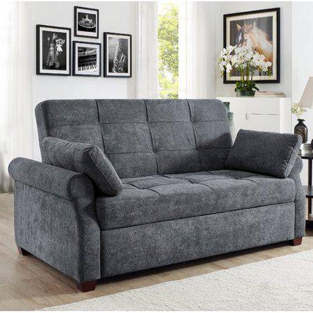 Serta Haiden Queen Sofa Bed Gray Walmart Com Queen Size Sofa Bed Sofa Bed Pull Out Sofa Bed