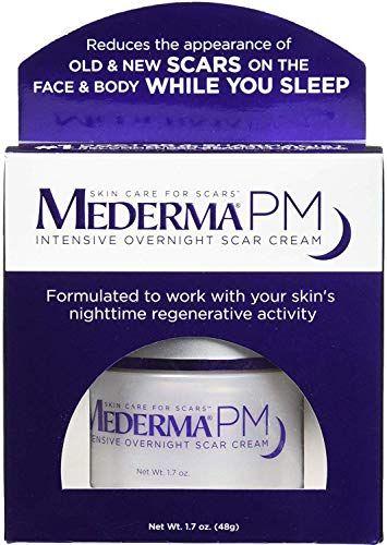 Buy Mederma Pm Intensive Overnight Scar Cream 1 7 Oz Pack 2