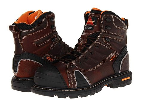 detailing ced4d 29161 Thorogood 6 Lace To Toe (Brown Tumbled) Men's Work Boots ...