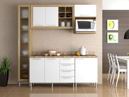 Cocina - Outlet del Mueble | tiny house | Kitchen Cabinets, Kitchen ...
