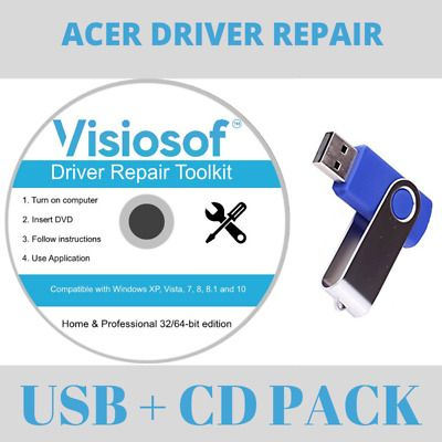 Details About Acer Driver Software Usb Disk Update Restore Repair