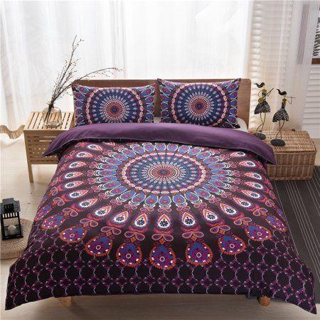 3pcs Set European Lines Bedding Set Queen Double Bed Size Bedclothes Comforter Duvet Quilt Cover Sheet Pi Queen Bedding Sets Duvet Cover Sets Boho Bedding Sets