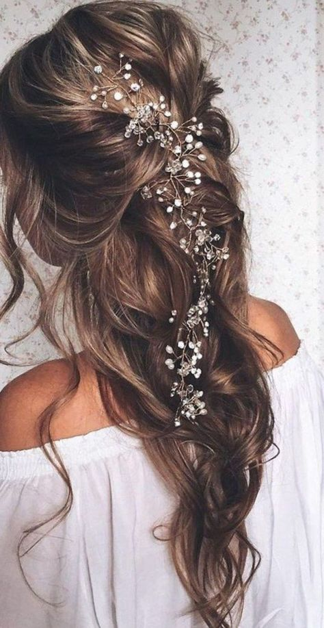Lindos Modelos De Peinados Para Bodas Pelo Suelto Largo Peinados