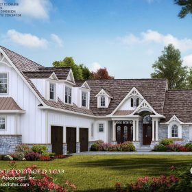 Tranquility 17092 3999 Garrell Associates Inc In 2020 Cabin House Plans Tuscany House Rustic House Plans