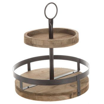Tiered Wood Tray Wood Tray Tiered Tray Stand Tiered Tray Decor