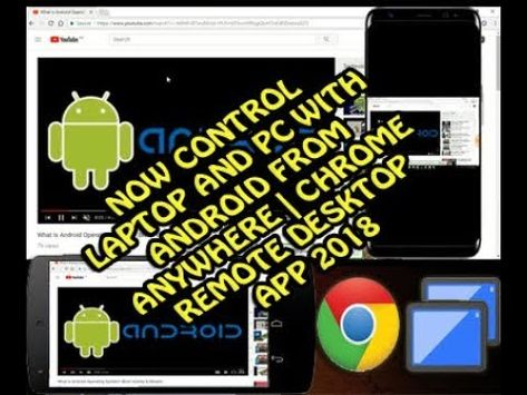 NOW CONTROL LAPTOP AND PC WITH ANDROID FROM ANYWHERE
