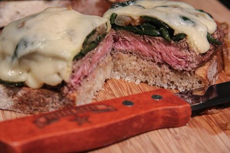 Flat Iron steaks are the perfect steak sandwich cut, take yours to the next level with this next-level Philly Cheesesteak recipe