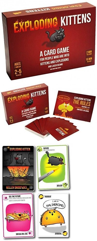 Games 233 Exploding Kittens Card Game Buy It Now Only 27 51
