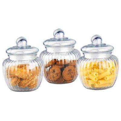 Wayfair Basics Wayfair Basics 3 Piece Cookie Jar Set Home