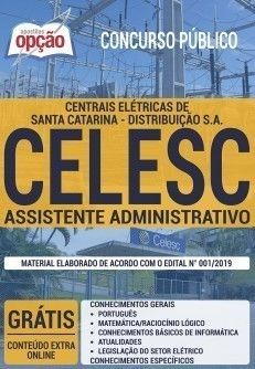 Apostila Concurso Publico Para Celesc Distribuicao S A Sc 2019