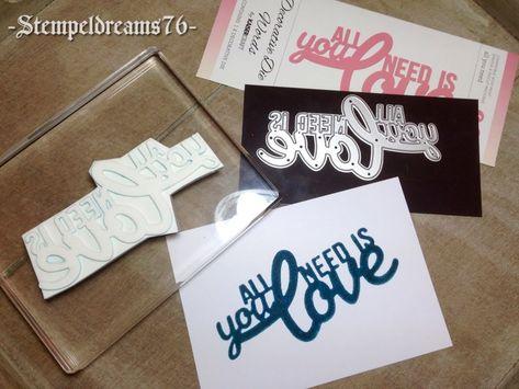 JV Papercrafts: Eigene Stempel Herstellen Mit Moosgummi. Make Your Own  Stamps With Foam. Wunderbar Verwickelt Thinlits | MissMint.