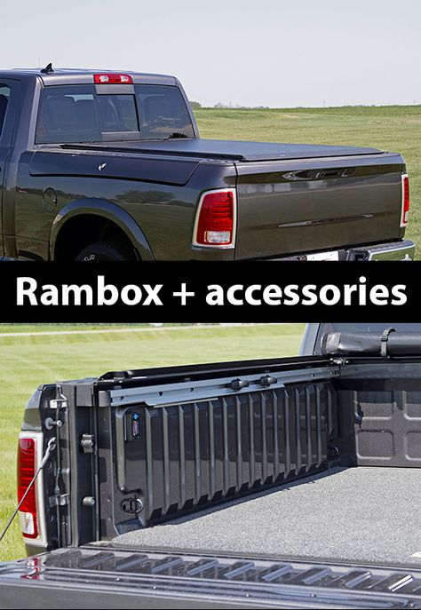 Access Original Tonneau Cover Roll Up Truck Bed Cover Rambox Truck Bed Trucks