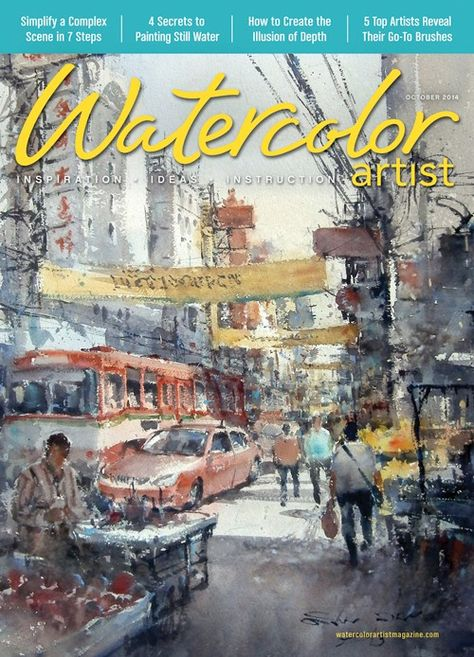 Watercolor Artist October 2014 Digital Edition Artist Art