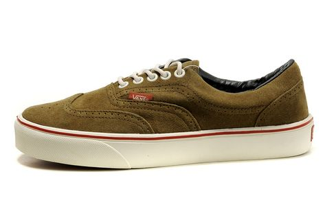 e1297cdd5a792e Vans Era Wingtip California Brown  NKOLF868  -  39.99   Vans Shop ...