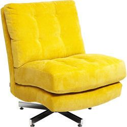 Swivel Chair Cinema Yellow With Images Chair Swivel Chair New Furniture