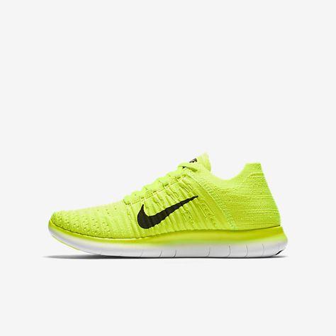 Nike Free RN Flyknit (3.5y-7y) Big Kids' Running Shoe | D̤̮O̤̮P̤̮E̤̮  K̤̮I̤̮C̤̮K̤̮S̤̮ | Pinterest | Kids running shoes and Running