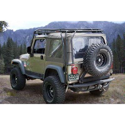 Gobi Usa Ranger Roof Rack System For 97 06 Jeep Wrangler Tj Jeep Wrangler Tj Jeep Wrangler Jeep Tj