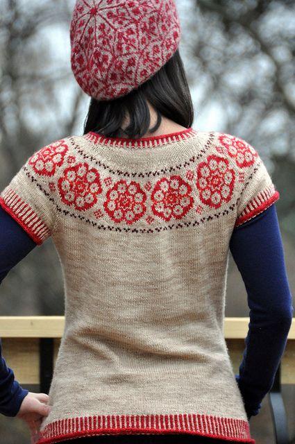 35 best fair isle knit images on Pinterest | Fair isle knitting ...