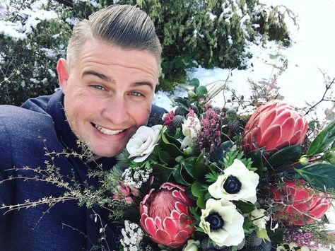 Today we married a couple of Australians in New Zealand IN THE SNOW! All I can show you however are these flowers from @crimsonweddingflowers because although @heartandcolour took some epic shots no-one else on the planet knows that they ditched their wedding plans to elope with the @elopementcollective    #MarriedByJosh #ElopementCollective #Wedding #WeddingCelebrant #MarriageCelebrant #Marriage #Celebrant #NewZealand #Queenstown #QueenstownElopement #QueenstownCelebrant #QueenstownWedding #mar