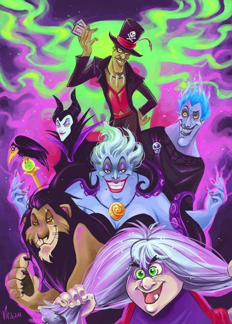 Disney Villains by NEPi on DeviantArt