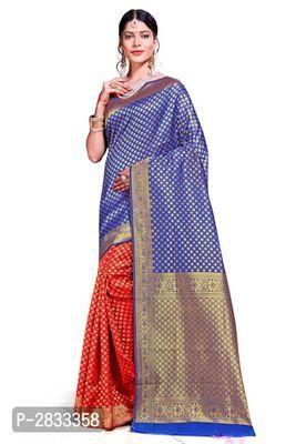Details about  /Designer Women/'s Banarasi Art Silk Saree With Blouse