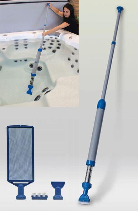 Reczny Odkurzacz Do Basenu Jacuzzi Wellis Spa Wand 8974393232 Oficjalne Archiwum Allegro Jacuzzi Swiffer
