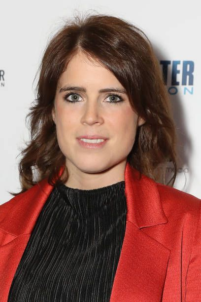 Princess Eugenie Looked Glamorous In An Eye Catching Scarlet Coat