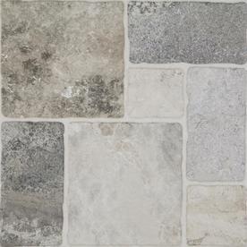 Style Selections Verona Gray 20 In X 20 In Glazed Porcelain Floor Tile Lowes Com Porcelain Floor Tiles Porcelain Flooring Tile Floor