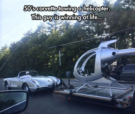 The Mosquito XE Helicopter And The C1 Corvette