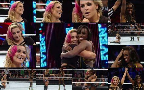 Naomi vs Natalya Winner Naomi