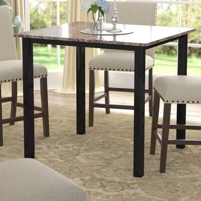 Noyes 5 Piece Dining Set In 2020 Counter Height Dining Table