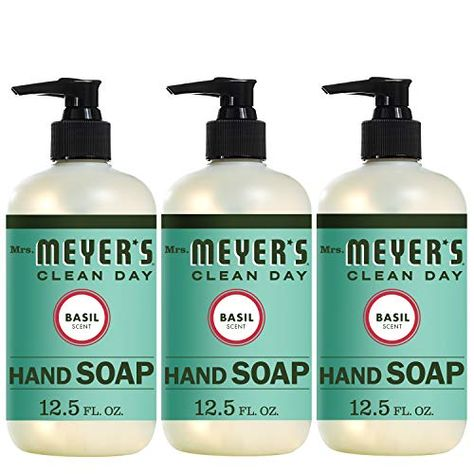 Review Mrs Meyer S Clean Day Liquid Hand Soap Basil Scent 12 5
