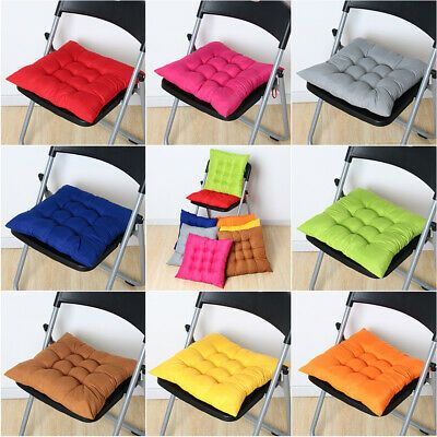 Details About Chair Thick Seat Pad Office Bar Sofa Pillow Cushion