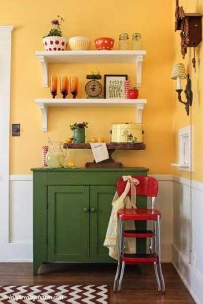 Pintar Cocina Pequena Amarillo Decoracion De Cocina Decoracion De Cocina Colorida Decoracion De Cocina Moderna