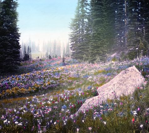 Rolling fields of wildflowers flowers floral nature forest photography soft pastel hippie boho wanderlust photography aesthetic 848787861000090276 Nature Aesthetic, Flower Aesthetic, Beautiful World, Beautiful Places, Illustration Inspiration, All Nature, Nature Images, Wild Flowers, Field Of Flowers