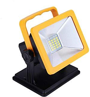Oyoco Rechargeable Led Work Light With Magnetic Base 15w 6 5h Lighting Battery Powered Waterproof Spotlights Outd Emergency Lighting Led Work Light Work Lights