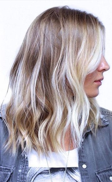 Haare farben dunkler ansatz helle spitzen  Stilvolle frisur website foto blog