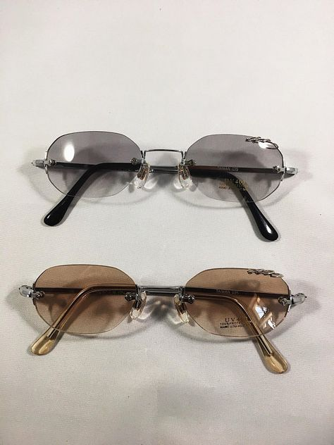 Vintage 90 S Micro Sunglasses Uncut Gems Adam Sandler Sunglasses Tiny Oval Glasses Eyebrow Ring Blue Green Orange Grey Sunglasses Vintage Sunglasses Rimless Sunglasses