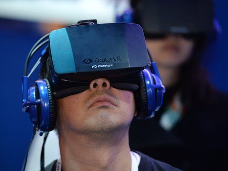 Author Howard Rheingold has been thinking about virtual reality tech for decades. He spoke to All Tech Considered about Facebook's purchase of the company behind the Oculus Rift headset.