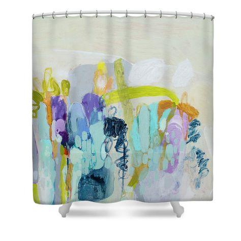 bath No Regrets shower curtain by...