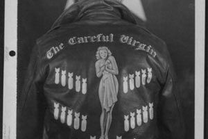 vintage everyday: Bomber Jacket Art – See U. Air Force Pilots Personalized Nose Art on Their Flight Jackets During WWII