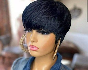 40++ Pixie cut wigs with bangs trends
