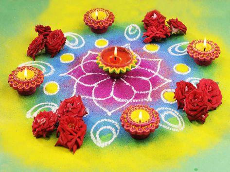 Diwali Rangoli Designs: Easy and beautiful rangoli designs