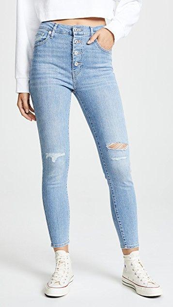 New Girls Super Skinny Fit Denim Look Jeggings Leggings