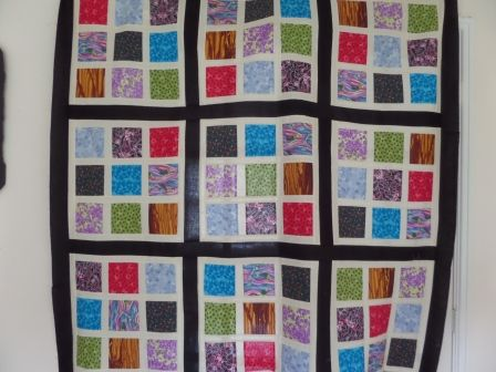 Sudoku quilt pattern and tutorial from Ludlow Quilt and Sew