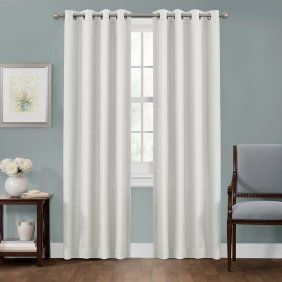 Home White Paneling Panel Curtains Curtains