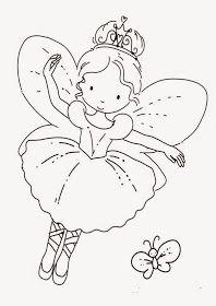 Mi Coleccion De Dibujos Hadas Para Pintar Imagenes De Hadas Infantiles Dibujos De Hadas Colorear Para Ninos