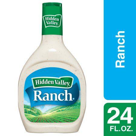 Food Ranch Salad Dressing Hidden Valley Ranch Dressing Salad